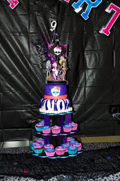 Monster High Birthday Party Decor Package by DecorativeMemories, $200.00