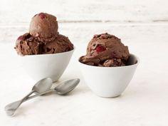 Cherry-Chocolate Ice Cream from FoodNetwork.com