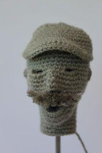 Mann mit Mütze - gehäkelt