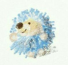 """Adorable Hedgehog Art""                                                                                                                                                                                 More"