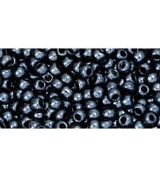 TR-11-81 Metallic Hematite TOHO Seemnehelmed.  Round seed beads TOHO of the size 11/0 are usually used in the handmade production jewelry for women and as also other handwork.