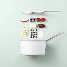 What's that dessert ? Art director @olga_bastian and photographer Mikkel Jul Hvilshøj sublime #food with shoot of receipe in pieces #inspiration