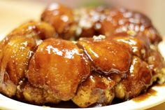 Love me some Monkey Bread... Cream Cheese and Nuts!?  Even better!
