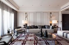MAGNIFICENT INTERIOR DESIGN Pastel color palette works so well in this subtle and luxurious interior   http://www.bocadolobo.com/   #luxuriousdecor