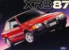 Carros para sempre: Ford Escort XR3 era o esportivo sonho de consumo dos anos 80                                                                                                                                                     Mais