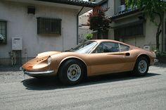 Ferrari Dino owned by Hiroki Nakamura, founder of VISVIM