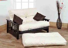 futon beds | ... Combo with Pink Reflex Flake Futon Mattress from The Discount Mattress