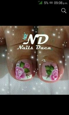 Toe Nail Art, Toe Nails, Beautiful Toes, Toe Nail Designs, Margarita, Manicure, Lily, Pretty Pedicures, Feet Nails