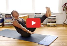 A 15-Minute Yoga Workout That Will Rock Your Core