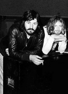 John Bonham and John Paul Jones