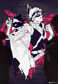 My Hero Academia - Tokoyami & Bakugou