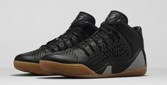 Nike Kobe 9 Mid EXT Black/Black Release Date