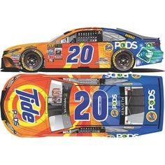 Matt Kenseth Action Racing 2017 #20 Tide Pods 1:24 Monster Energy NASCAR Cup Series Die-Cast Toyota Camry