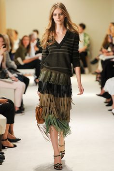 The Top 10 Trends of Spring 2015: The Ultimate Fashion Week Cheat Sheet   Sonia Rykiel - Photo: Kim Weston Arnold/Indigitalimages.com