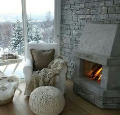 Winter snuggling