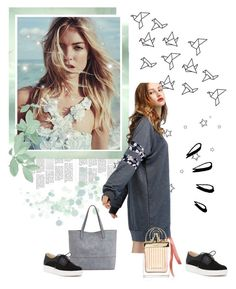 """""""Untitled #5"""" by armelinaarmeli ❤ liked on Polyvore featuring Chloé, Sole Society, Dr. Scholl's and Old Navy"""