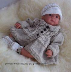 Free Knitting Pattern Baby Jacket