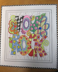 CRAYONS~CRAYONS~CRAYONS Color your white fabric! Try this idea using your own doodling or maybe a childs drawing???