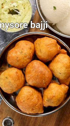 Pakora Recipes, Chaat Recipe, Curry Recipes, Jain Recipes, Indian Dessert Recipes, South Indian Snacks Recipes, Healthy Indian Recipes, Vegetarian Snacks, Chutney Recipes