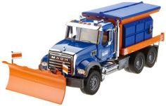 Bruder Toys Mack Granite Winter Service with Snow Plow by Bruder
