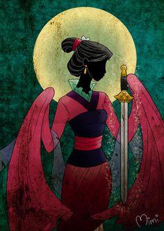 Дисней Принцессы в стиле Crystal Sailor Moon