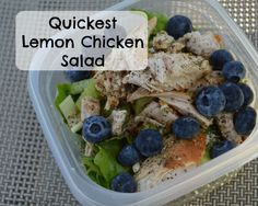 Quickest Lemon Chicken Salad Recipe - Insights by April- Houston Texas Mom Blogger