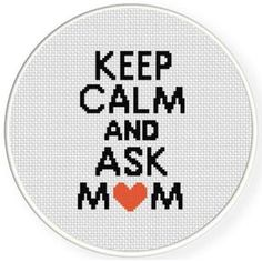 Thrilling Designing Your Own Cross Stitch Embroidery Patterns Ideas. Exhilarating Designing Your Own Cross Stitch Embroidery Patterns Ideas. Counted Cross Stitch Patterns, Cross Stitch Designs, Cross Stitch Embroidery, Embroidery Patterns, Hand Embroidery, Keep Calm, Cross Stitch Quotes, Small Cross Stitch, Cross Stitching