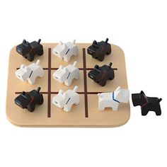Scottie dogs tic-tac-toe -Mom, tell Dad I want this for Christmas lol
