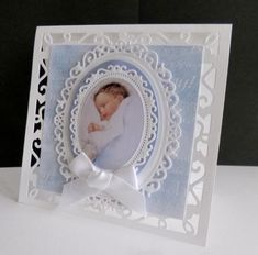~ It's a Boy by sistersandie - Cards and Paper Crafts at Splitcoaststampers Baby Boy Cards, New Baby Cards, Mothers Day Cards, Spellbinders Cards, Baby Sewing Projects, Crochet Bebe, Card Making Tutorials, Marianne Design, Baby Scrapbook