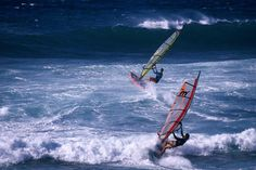 """Windsurfing the tradewinds, Hawaii - Call Travel Connections at 815.780.8581, visit us online at www.PeruTravelConnections.com, or """"Like"""" us on Facebook at www.Facebook.com/TravelConnectionsPeru!"""