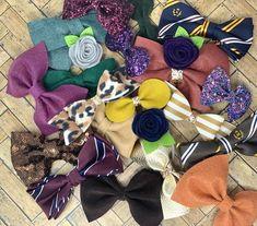 Fall Grab bag of 5 bows Hello Hair, Bow Shop, Glitter Fabric, Bridal Tiara, Grab Bags, Season Colors, Boss Babe, Bag Sale, Flower Crown