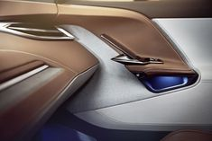 Direct from China, Byton brand unveils concept car dubbed Concept soberly at the the Las Vegas side. Custom Car Interior, Car Interior Design, Interior Sketch, Automotive Design, Ford Gt, Las Vegas, Audi Tt, Peugeot, Car Interior Upholstery