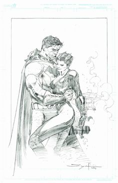 Batman and Catwoman by Ardian Syaf