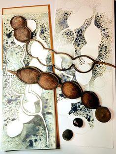 sophie munns : visual eclectica blog started may, 2009, clayfield, qld Textiles Sketchbook, Art Sketchbook, Botanical Art, Botanical Illustration, Natural Forms Gcse, Seed Art, Sketchbook Inspiration, Seed Pods, Patterns In Nature