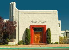 Floral Chapel, Albuquerque, New Mexico #artdeco #architecture