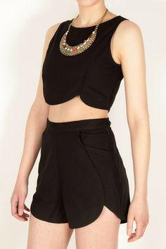 Samantha Pleet Leaf Tank | Eco-friendly Clothing | SHOP ETHICA