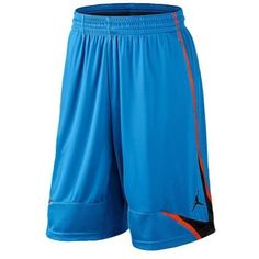 ef07479a4a6 NIKE JORDAN BASKETBALL SHORTS SIZE XL PHASE 23 BLUE ORANGE & BLACK NEW # Nike
