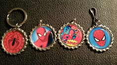 Check out this item in my Etsy shop https://www.etsy.com/listing/230431274/spider-man-bottle-cap-items-spider-man