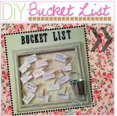 """""""& 63:,, DiY Bucket List Board!"""" by xoxo-tipgirls ❤ liked on Polyvore"""
