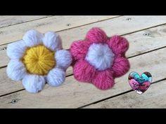 Cours de crochet pour débutant / Fleurs facile - YouTube