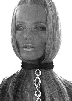 Veruschka by Franco Rubartelli for Vogue Paris, April 1969
