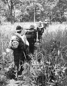 NVA patrol. #VietnamWarMemories https://www.pinterest.com/jr88rules/vietnam-war-memories-2/