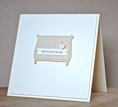 Stampin' Up ideas and supplies from Vicky at Crafting Clare's Paper Moments: Little Additions baby