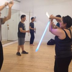 Maybe it's a #revenge killing... From our #lightsaber mini #gauntlet #practice  #Jedi #Sith #starwars #stagecombat #class #NewYorkJedi