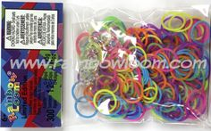 Fireworks Bands (Limited Edition) | Rainbow Loom, an educational rubber band craft for children.