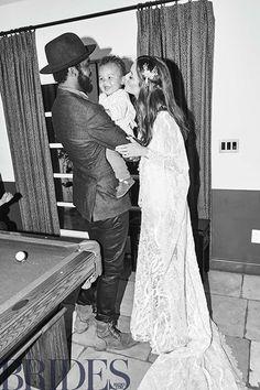 Nicole Trunfio Marries Gary Clark Jr. In Palm Springs Wedding