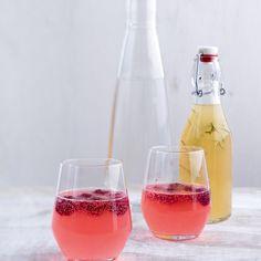 ESSEN & TRINKEN - Himbeer-Ingwer-Limo Rezept