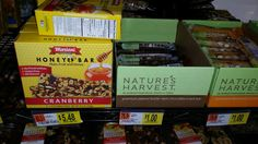 Nature's Harvest Bar