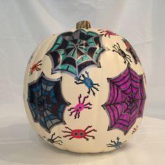 Pumpkin Art, Pumpkin Crafts, Marker Art, Design Art, Christmas Bulbs, Holiday Decor, Christmas Light Bulbs, Pumpkin Crafts Kids