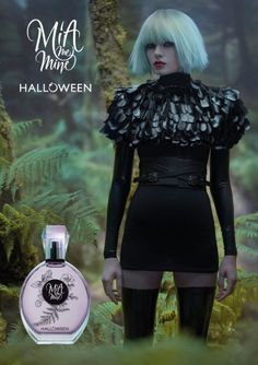 Halloween Mia Me Mine, 2017 Perfume Ad, Cosmetics & Perfume, Solid Perfume, Perfume Bottles, Halloween, Madness, Women, Images, Posters